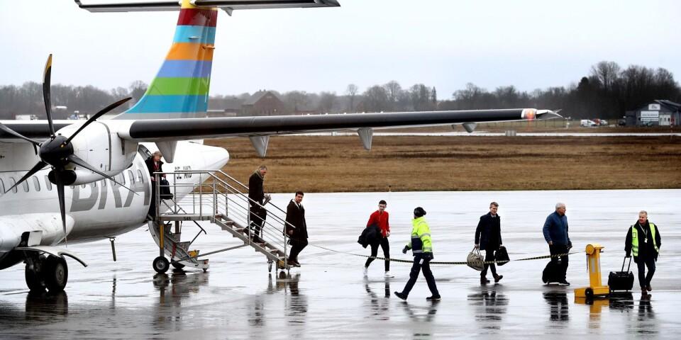 """""""Skärp miljömålen för all flygtrafik till och från Kalmar."""""""