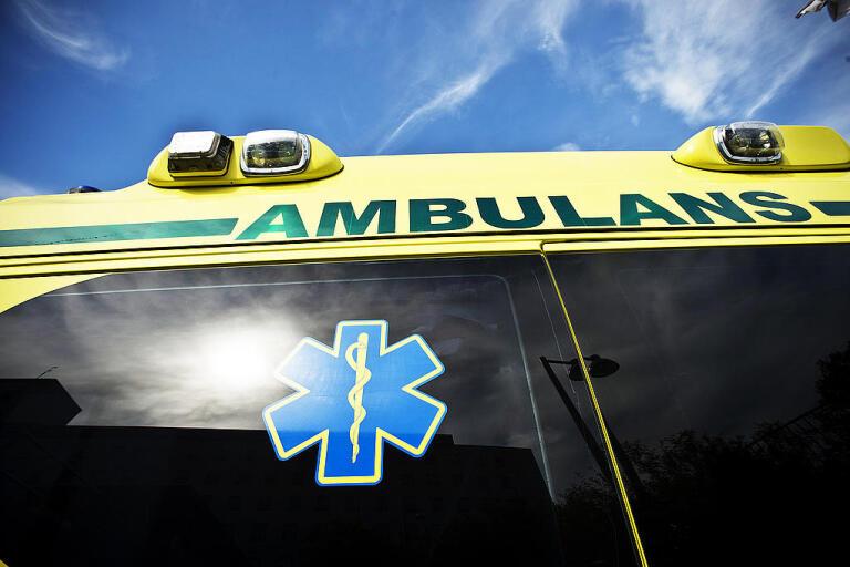 En man skadades allvarligt på måndagen i en olycka på en byggarbetsplats i Falun. Arkivbild.