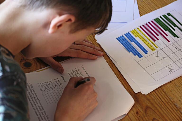 """Elever som lämnat grundskolan med ett eller flera F i betyget ska kunna """"tenta av"""" – få en prövning av kunskaperna med mindre krångel än i dag. Arkivbild."""