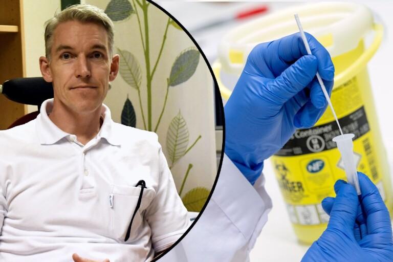 Infektionskliniken drog ner på vårdplatser för covidpatienter