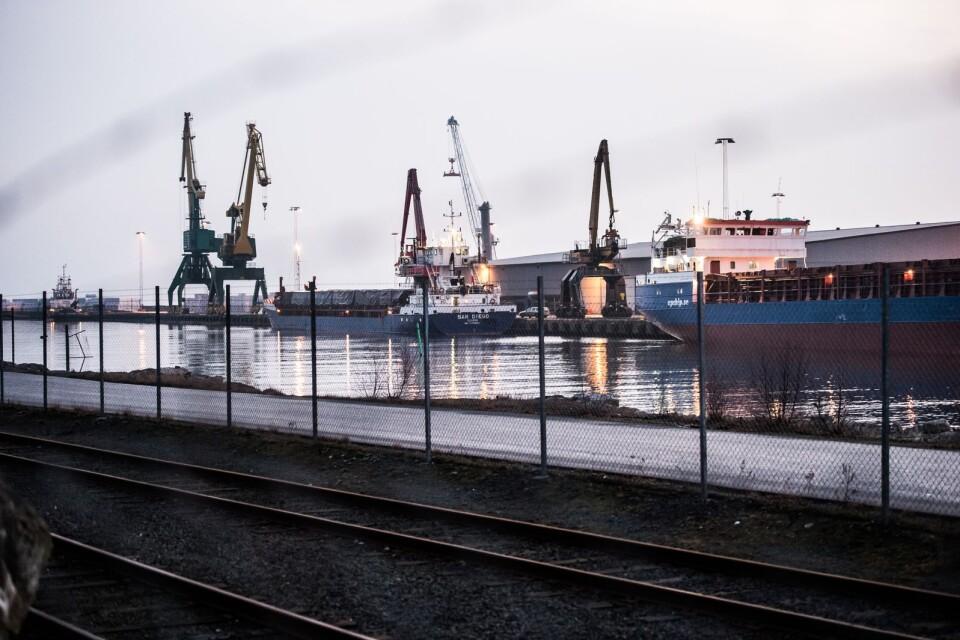 Karlshamn i konflikternas centrum.