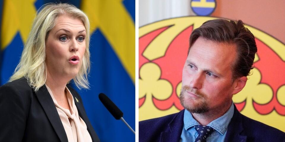 Socialministern fick veta mer om Skånes kamp mot coronan