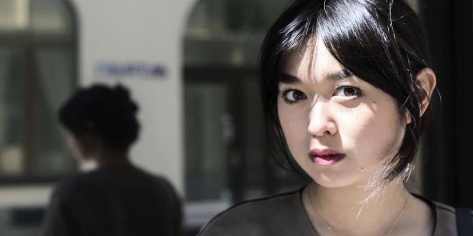Angela Gui, dotter till fängslade Gui Minhai, är aktivist och historiker. Hon kommer att vittna under rättegången. Arkivbild.
