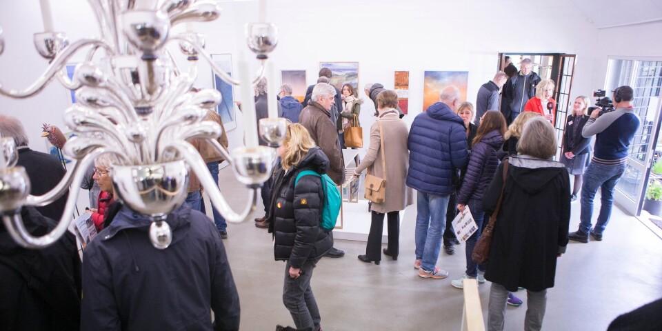 Årets konstrunda ställs in. Bilden är tagen på Tjörnedala konsthall under konstrundan 2017.