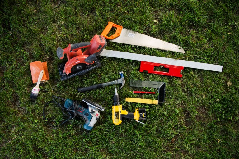 Tjuvarna har varit ute efter verktyg. Arkivfoto.