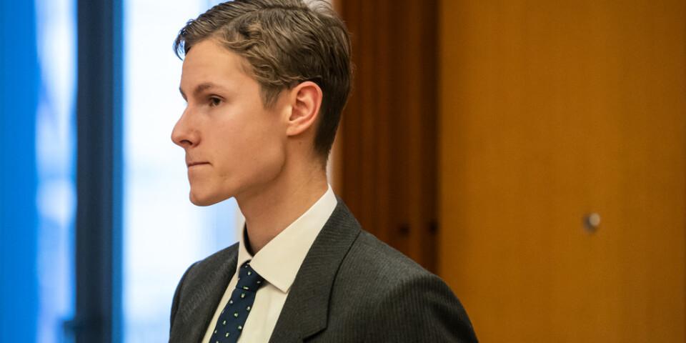 Terrormisstänkte Philip Manshaus var enligt experter straffrättsligt tillräknelig vid dådet i Bærum i augusti. Arkivbild.