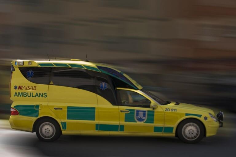 Blåljus: Singelolycka på Öland – personbil voltade