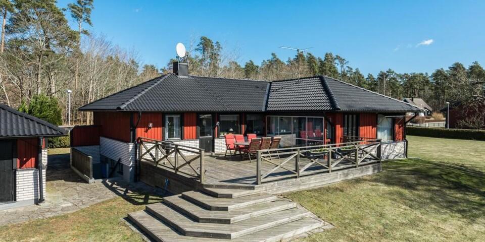 7. Betvägen 3, Vassmolösa, Kalmar. Boyta: 116 kvadratmeter. Utropspris: 1 975 000 kr.