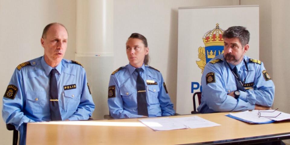 Patric Heimbrand, Malena Grann och Patrik Oldin meddelade på tisdagen att polisen inte ger fler tillstånd till Emmabodafestivalen om arrangemanget inte ändras i grunden.