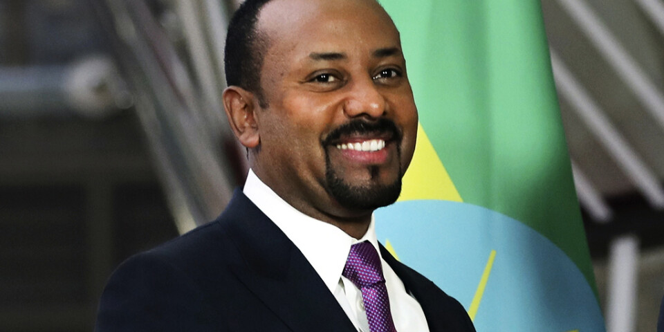Blir det Abiy Ahmed, Etiopiens premiärminister, eller...