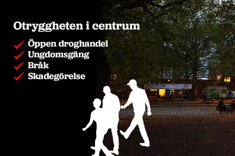 """Ungdomsgäng sprider oro i Ystad: """"Hotfulla mot allmänheten"""""""
