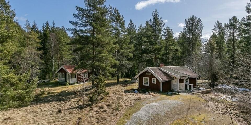 10. Gladhammar Eriksberg, Västervik. Boyta: 20 kvadratmeter. Utropspris: 325 000 kr.
