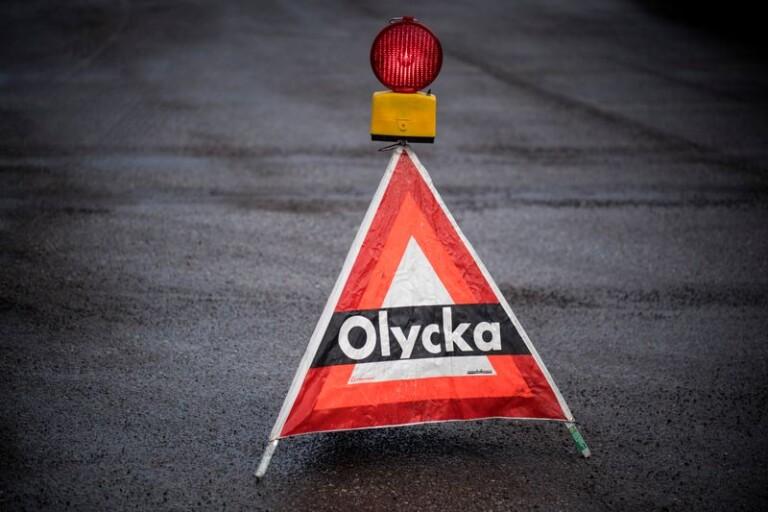 Olycka på E22 – vägen avstängd