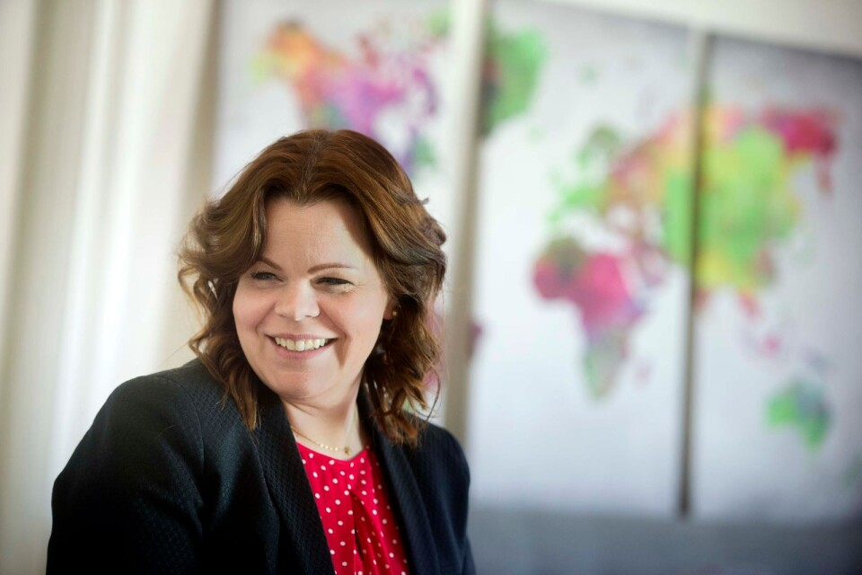 Emma Malm öppnade egen juristbyrå för tre och ett halvt år sedan.