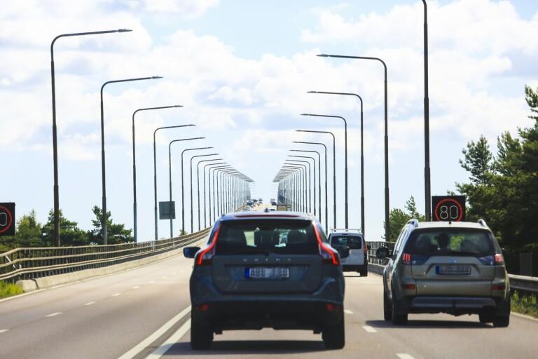Volvo gör reklamfilm på Öland