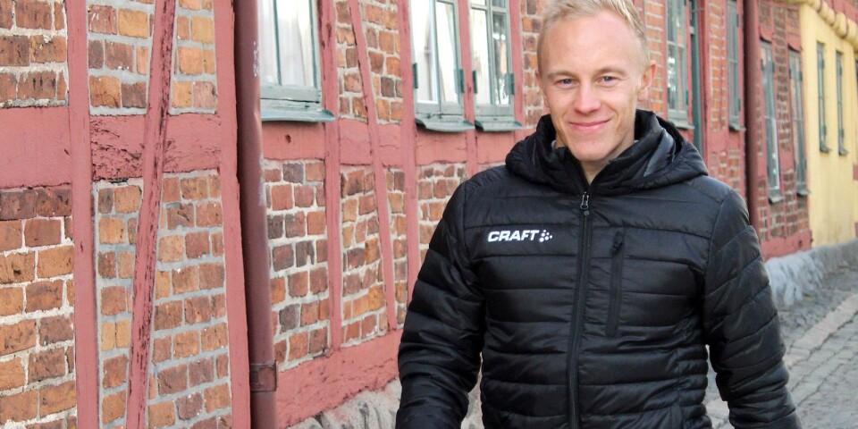 Andreas Thell är projektledare och ungdomscoach för La Source, ett ungdomsprojekt från Leader Sydöstra Skåne som pågår fram till september 2021.