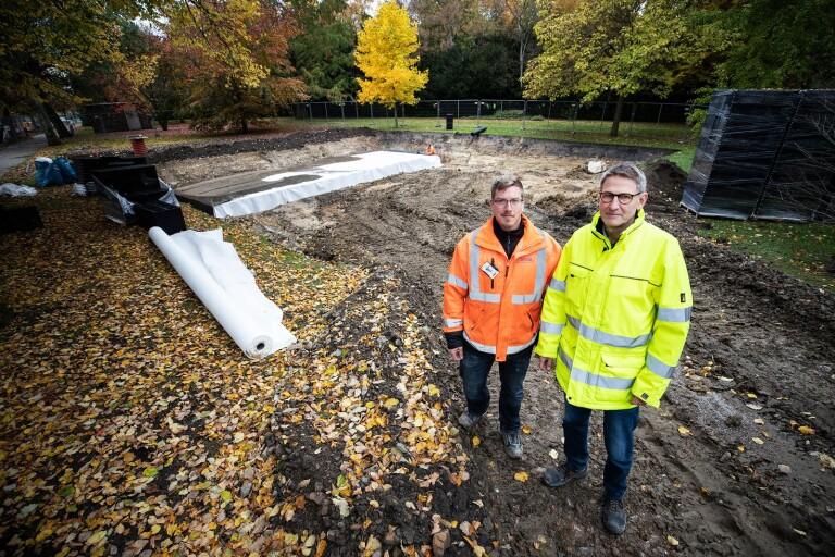 Vattenmagasin ska rädda källare från översvämning