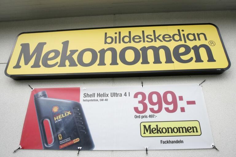 Förlust för Mekonomen. Arkivbild.