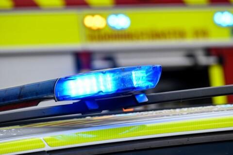 Länet: Trafikanter upptäckte brinnande sommarstuga