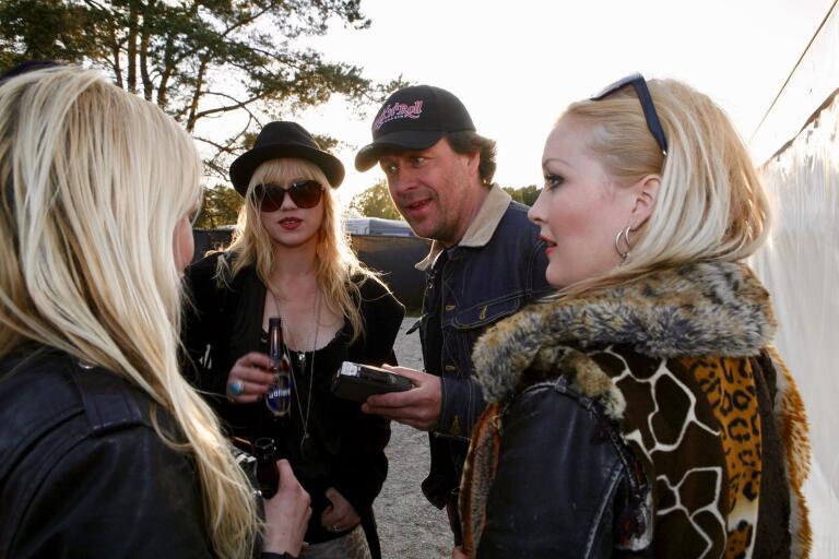 Jörgen Holmstedt intervjuar Crucified Barbara på Sweden Rock Festival 2012.