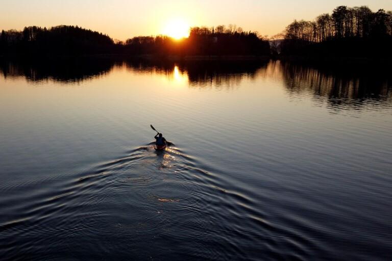 Skulle paddla till Karlskrona – hamnade utanför Öland