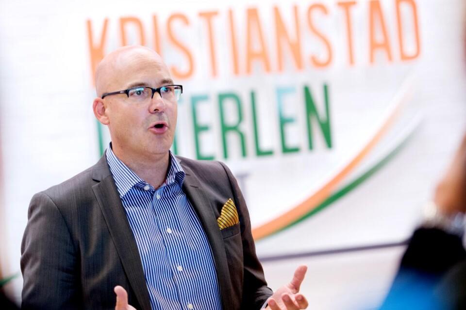 Jonas Haak, vd på Kristianstad Österlen Airport.