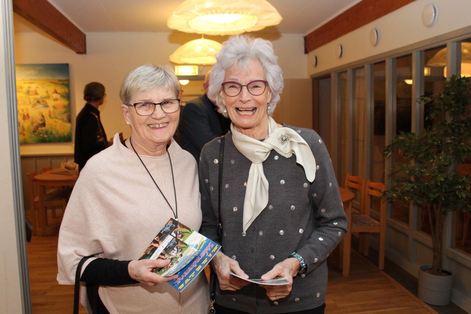Eleonor Wilhemsson och Marianne Elfversson.
