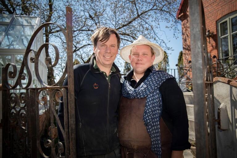 Karl Fredrik får eget trädgårdsprogram i tv