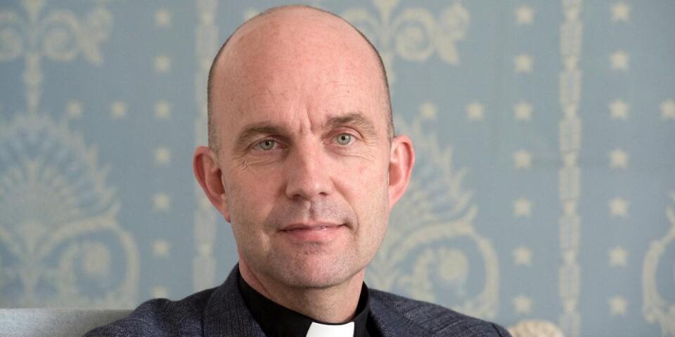 """Biskop Fredrik Modeus skriver om """"exempel där församlingarna bidrar till en god utveckling av folkhälsan under pandemin""""."""