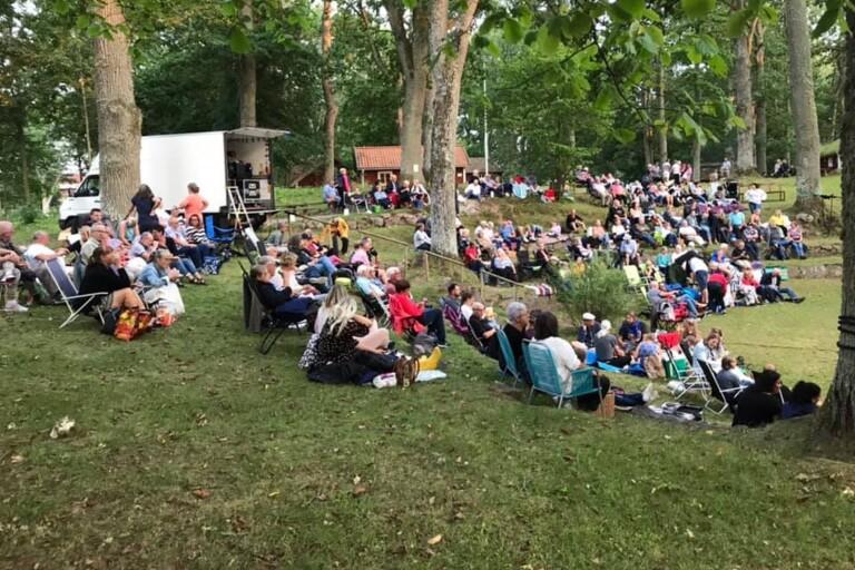 Filmkväll i hembygdsparken slog publikrekord