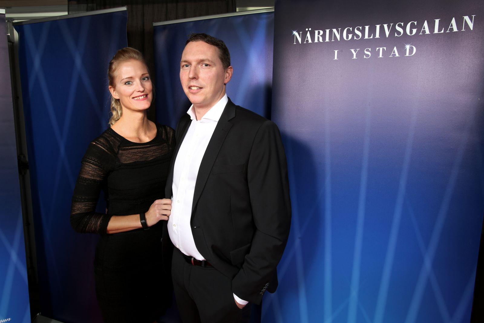 Tina Lindkvist och Daniel Marceau, DM Invest