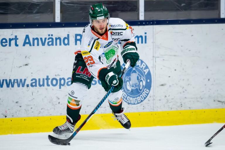 Måns Hansson, här som Kristianstadspelare.