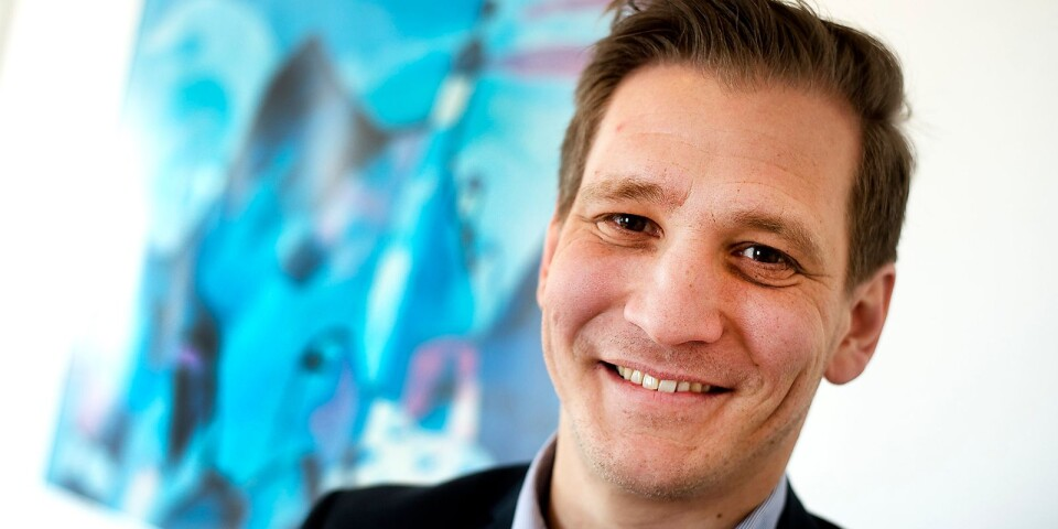 Fredrik Persson, näringslivschef i Östra Göinge kommun.