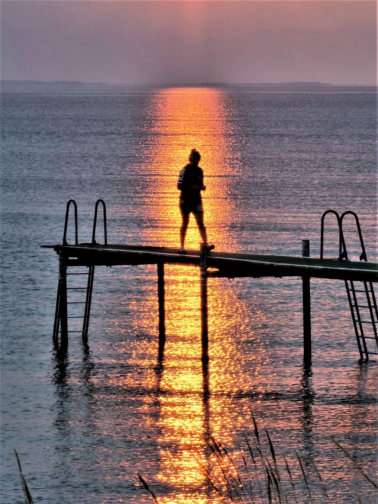 """""""Magisk solnedgång över Ölands hav"""", hälsar Anne-Sofie Holmberg, @tindrasofie, via Instagram."""