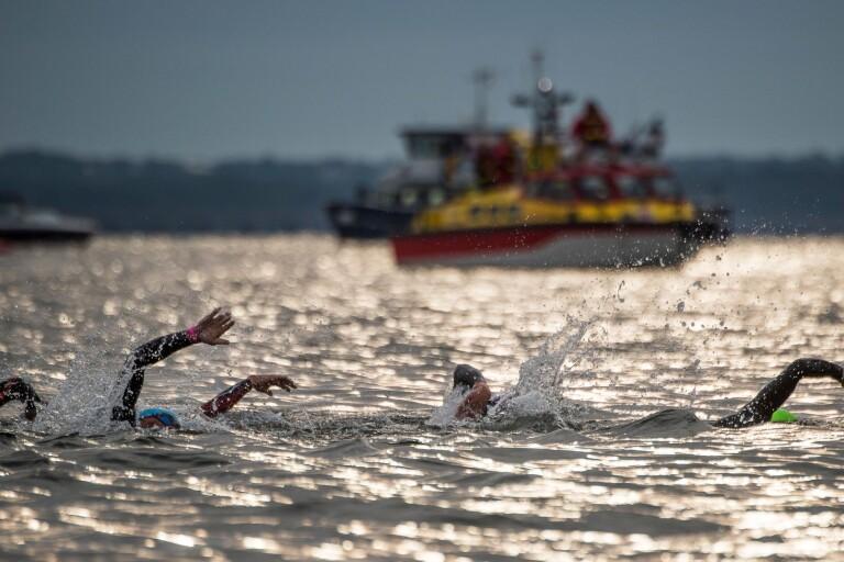 Ironman: Första utmaningen – 3 860 meter simning
