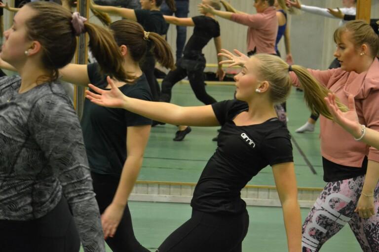 Dansant uppladdning