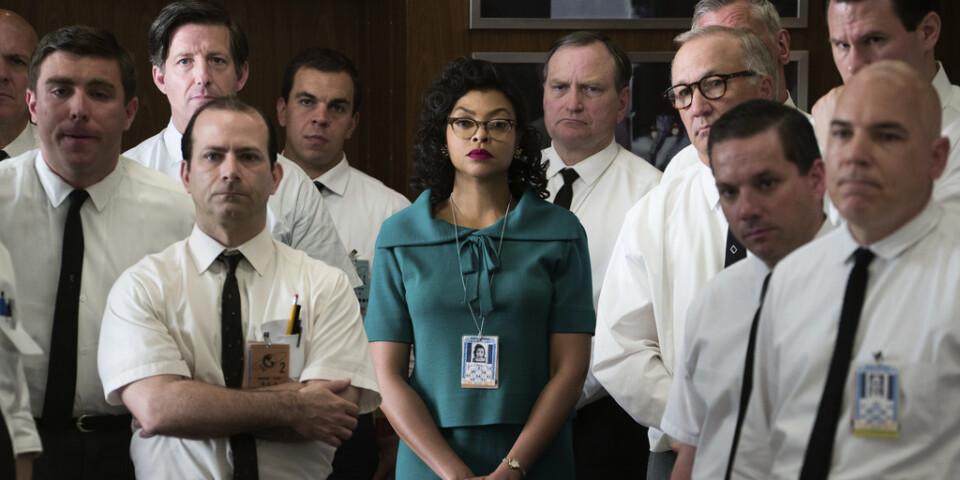 "Taraji P Henson som Katherine Johnson i ""Dolda tillgångar"" Pressbild."