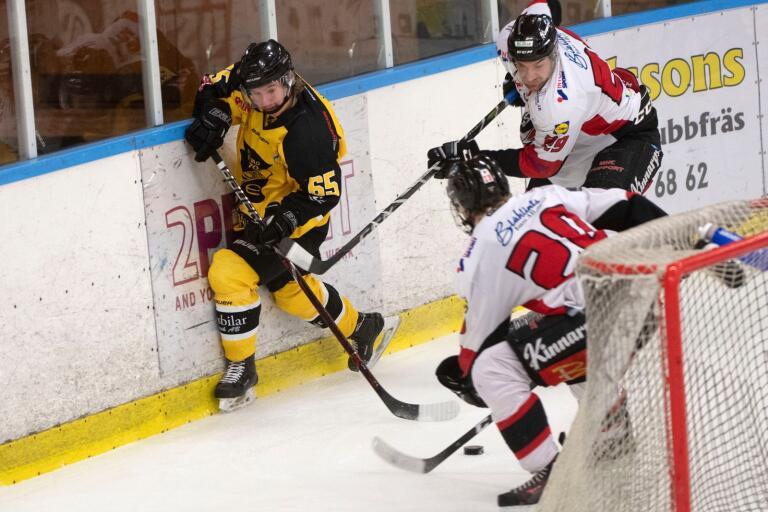 Sölvesborgs Jesper Thomasson i en tidigare match. Nu föll Sik hemma mot Jonstorp.