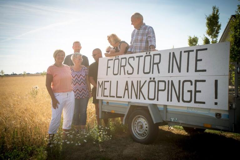 De slåss för Mellanköpinges fortlevnad