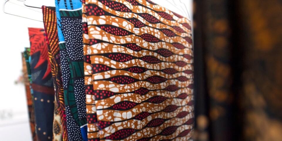 Vackra, handplockade tyger från Afrika.
