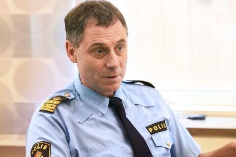 """Polischefen om drogerna och buskörningen: """"Finns en trafikproblematik"""""""