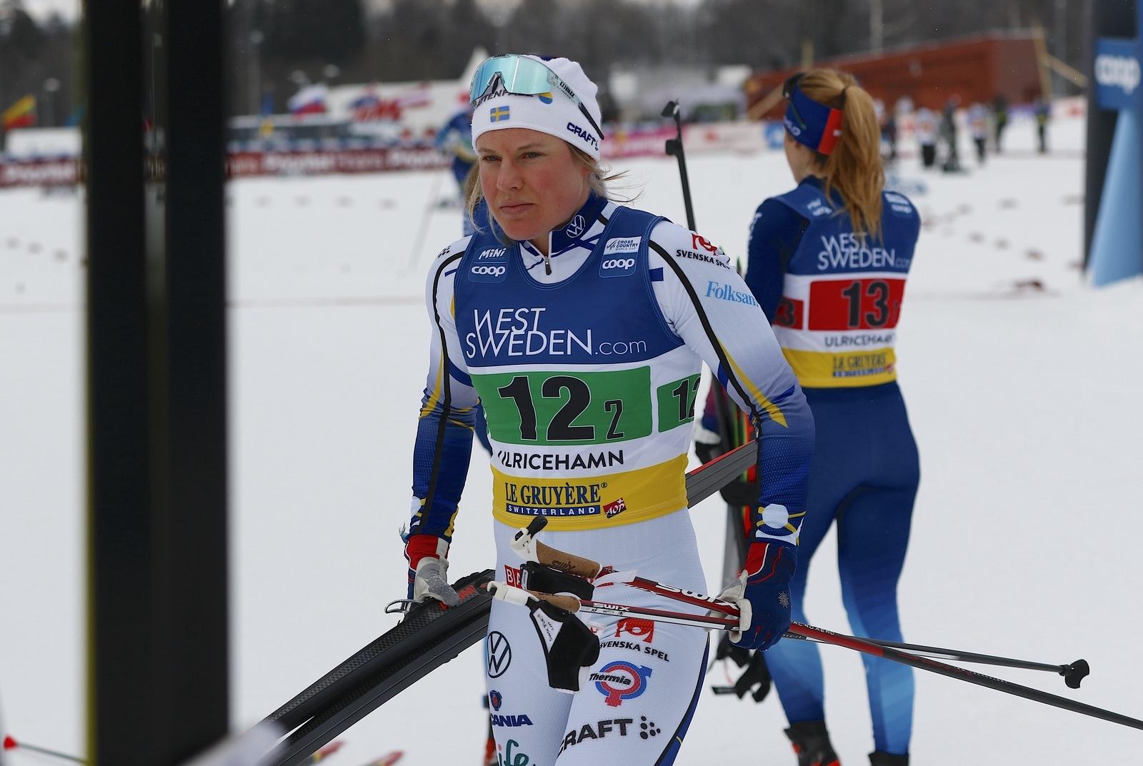 Världscupen i Ulricehamn 2021TeamsprintHanna Falk