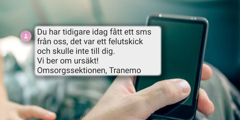 Sjuhärad: Kommunen skickade corona-sms till anhöriga – av misstag