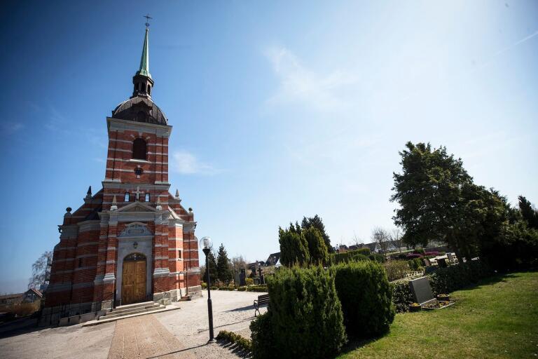 Stora Hammars kyrka. Arkivbild.