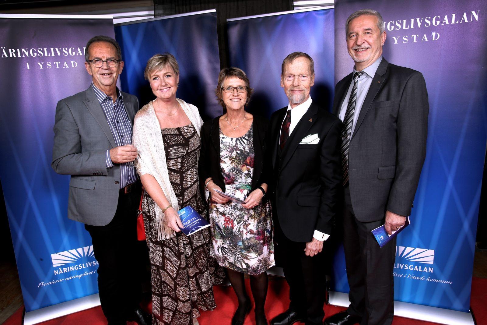 Thomas Lantz, Anita Fischer Melms, Lisbeth Nilsson, Bo Lönnerblad och Curt Hansson, Ystad Sweden Jazz