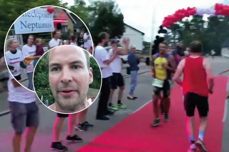 """TV: Se den galna Ironman-klacken i Berga: """"Bra tryck"""""""