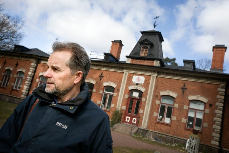 Spåren efter Kalmars gamla epidemisjukhus finns kvar