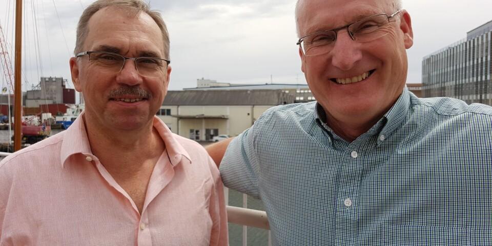 Jan-Olof Thorstensson, vice ordförande Coompanion Kalmar län  och Mats Blomberg, ordförande Coompanion Kalmar län.