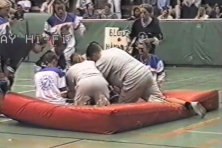 1995: Här ser du matcherna i skolrugbyn