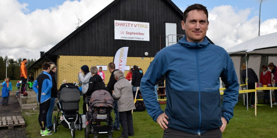 Gael Joly hoppas på många starter i årets Charity trail.